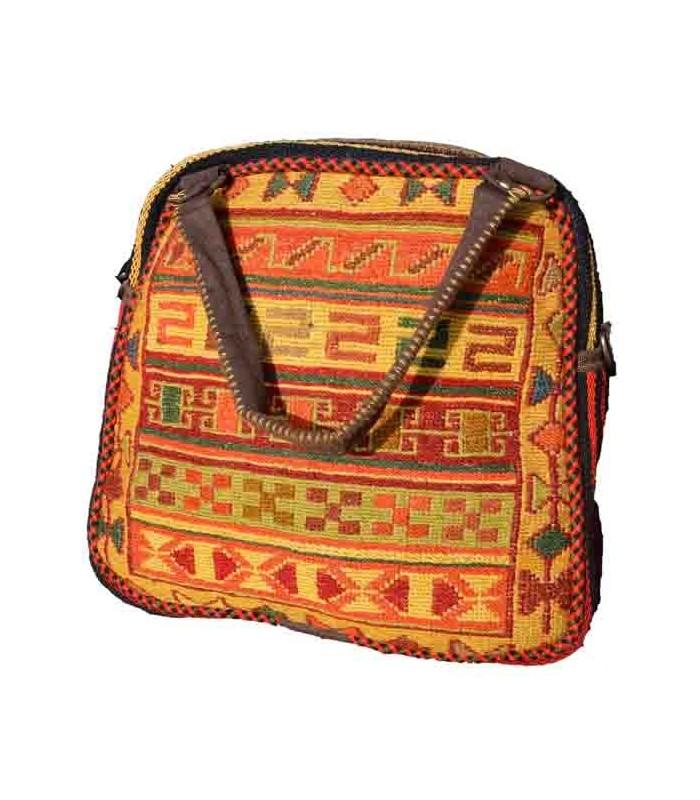 کیف دستی نیم گرد زنانه مغان