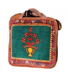 کیف دستی دانشجویی فرش دستبافت