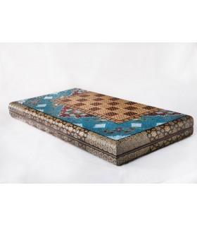 تخته شطرنج و نرد مدل چوگان