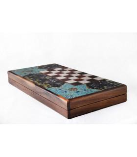 تخته شطرنج و نرد مدل چوگان 2